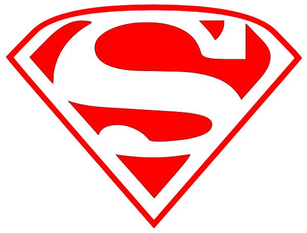 Superman Red Clip Art at Clker.com - vector clip art ...