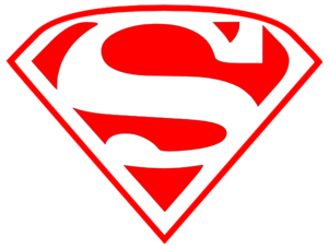 Superman Red Clip Art