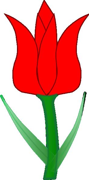 Tulip Clip Art At Clker Com Vector Clip Art Online