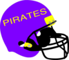 Purple And Yellow Helmet Clip Art