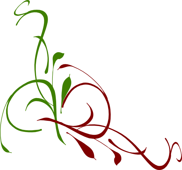 Floral Swirl Clip Art at Clker.com - vector clip art online, royalty ...