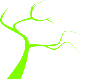 Limegreen Tree Clip Art