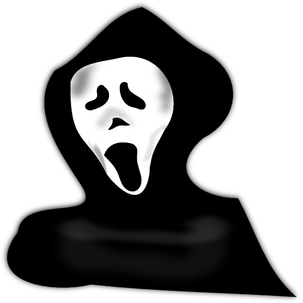Ghost scary clip art at clker vector clip art online royalty download this image as publicscrutiny Images