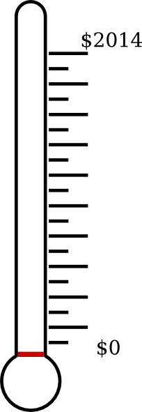 Blank Thermometer Clipart