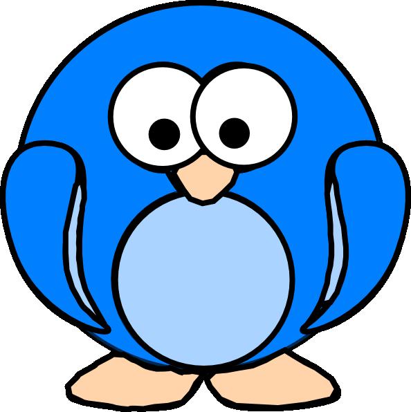 Blue Penguin Clip Art at Clker.com - vector clip art online, royalty ...