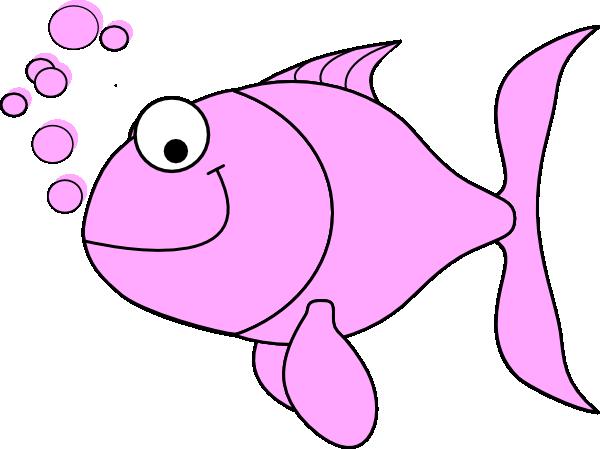 Pink Fish Bubbles Clip Art at Clker.com - vector clip art ...
