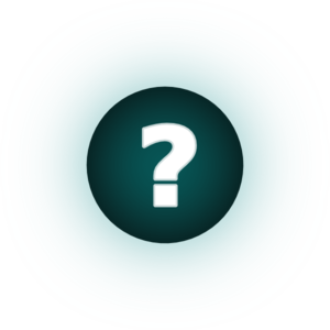 White Question Mark Teal Background Clip Art