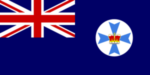 Flag Of Queensland Australia Clip Art