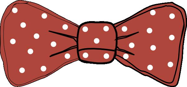 Bow Tie Red Clip Art at Clker.com - vector clip art online ...