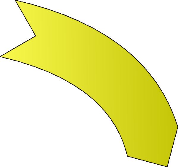 clipart yellow arrow - photo #11