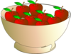 Bowl 9 Apples Clip Art