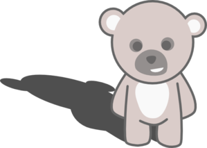 Teddy - No Word Bubble Clip Art