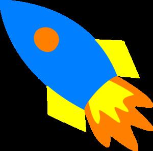blue rocket ship clip art at clker com vector clip art online rh clker com rocket ship clipart outline rocket ship clip art free
