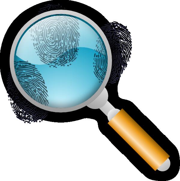 Fingerprint Search Clip Art at Clker.com - vector clip art ...