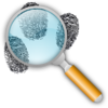 Fingerprint Search Clip Art