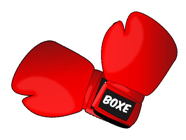 Boxing Gloves Clip Art at Clker.com - vector clip art ...