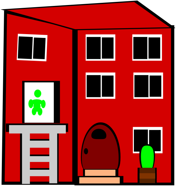 Apartment clipart