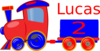 Loco Train Lucas Clip Art