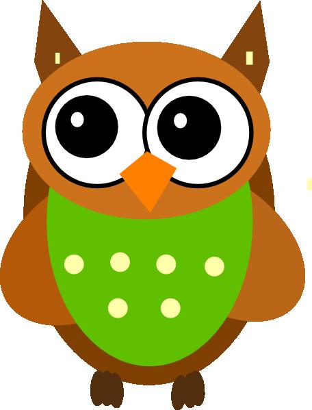 Green Owl Clip Art at Clker.com vector clip art online, royalty free ...