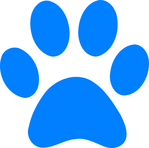 Blues Clues Paw Clip Art at Clker.com - vector clip art ...