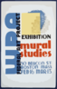 Wpa Federal Art Project Exhibition - Mural Studies Clip Art