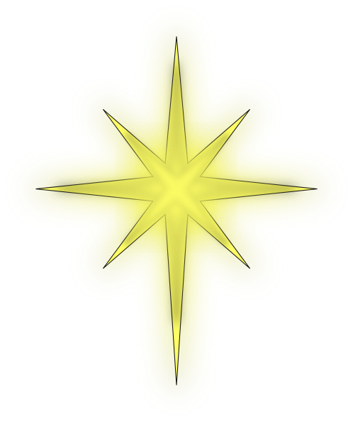 North Star Solid Black Clip Art at Clker.com - vector clip ...