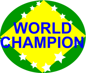 Brazil World Champion Clip Art