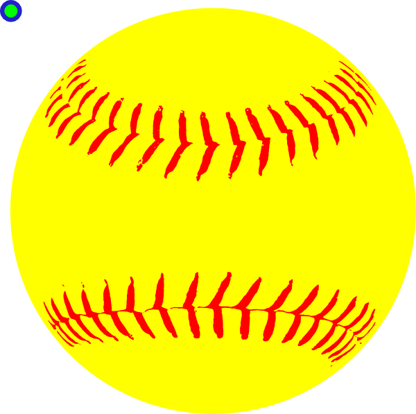 Yellow Fastpitch Ball Clip Art at Clker.com - vector clip art online ...