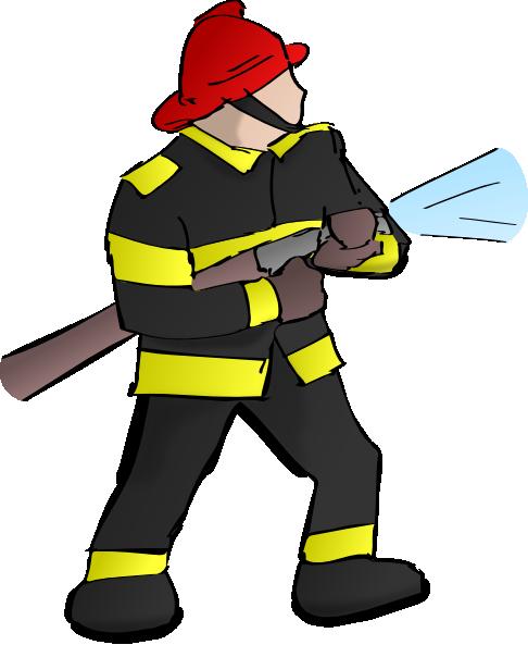 clipart fireman - photo #1
