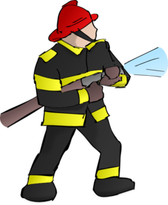 fire fighter clip art at clker com vector clip art online royalty rh clker com firefighter clip art free firefighter images clipart
