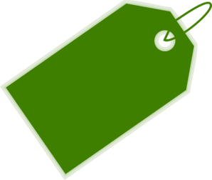 Green Price Tag Clip Art at Clker.com - vector clip art online ...