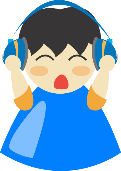 Headphone Blu Boy Clip Art at Clker.com - vector clip art online ...