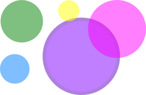 Colored Circles Clip Art