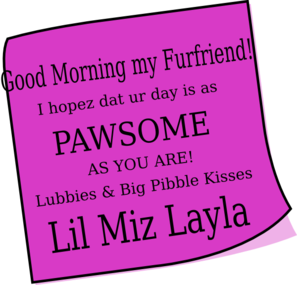 Layla Morning2 Clip Art