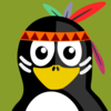 Native American Penguin Clip Art