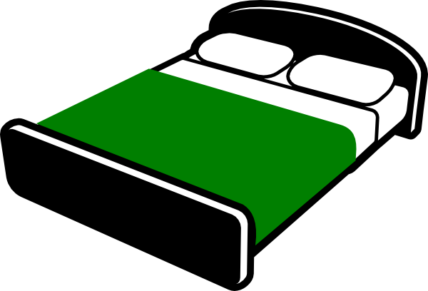 Bed Clip Art at Clker.com - vector clip art online, royalty free ...