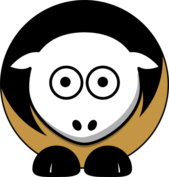 Demon Sheep Clip Art