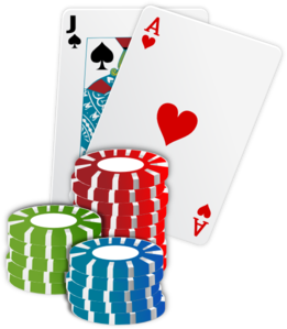 Cards And Chips Clip Art