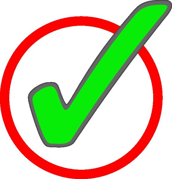 Green Check Mark In Circle 2 Clip Art At Clker Vector Clip Art