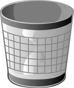 Trash Sample Clip Art