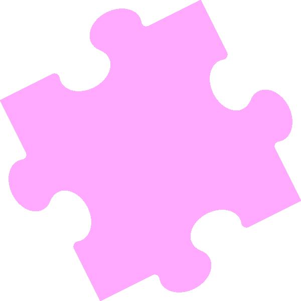 Jigsaw Puzzle - Pastel 5 Clip Art at Clker.com - vector ...