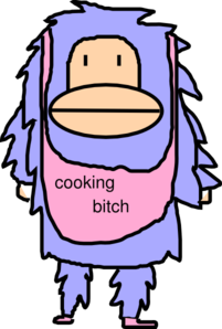 Cooking Bitch Clip Art