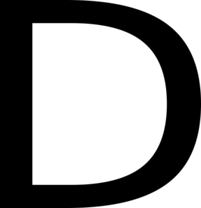 Georgia, Letter, D, English, Alphabet Clip Art at Clker ...