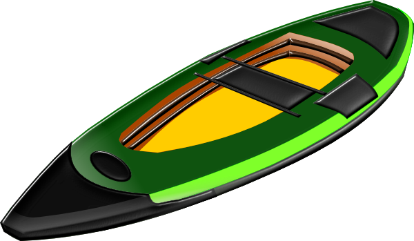 clipart of a kayak - photo #5