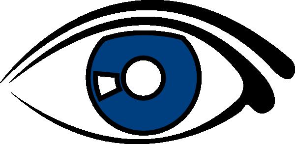 eye blue clipart clip art at clker com vector clip art online rh clker com clipart images of an eye clipart of eyes looking