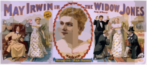 May Irwin In The Widow Jones Supported By John C. Rice. Clip Art