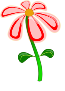 Flower Red Cartoon Clip Art