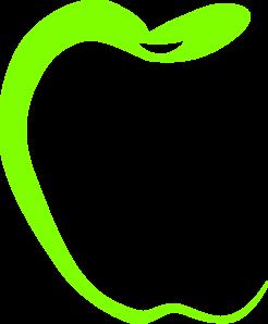 Green Apple Teacher Clip Art at Clker.com - vector clip art online ...
