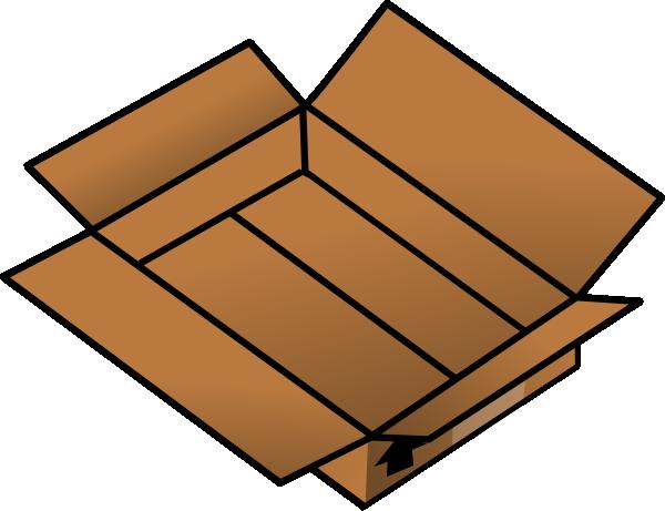 open cardboard box clip art at clker com vector clip art Envelope Clip Art Mail Clip Art