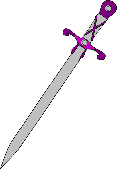 Cross Sword And Shield Clip Art At Clker Com Vector Clip